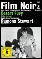 Desert Fury - German DVD cover (xs thumbnail)