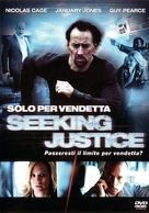 Seeking Justice - Italian DVD cover (xs thumbnail)