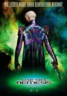Star Trek: Nemesis - German Movie Poster (xs thumbnail)