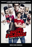 Scott Pilgrim vs. the World - Brazilian Movie Poster (xs thumbnail)