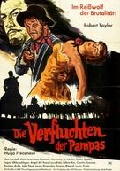 Savage Pampas - German Movie Poster (xs thumbnail)