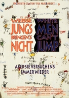 White Men Can't Jump - German Movie Poster (xs thumbnail)