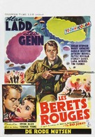 The Red Beret - Belgian Movie Poster (xs thumbnail)