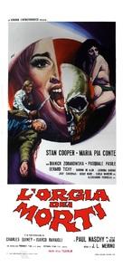 La orgía de los muertos - Italian Movie Poster (xs thumbnail)