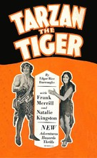 Tarzan the Tiger - Movie Poster (xs thumbnail)