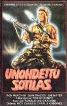 Forgotten Warrior - Finnish VHS cover (xs thumbnail)