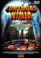Teenage Mutant Ninja Turtles - Spanish DVD movie cover (xs thumbnail)