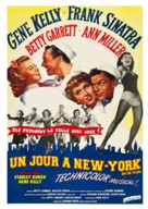 On the Town - French Re-release movie poster (xs thumbnail)