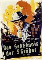 Backlash - German Movie Poster (xs thumbnail)