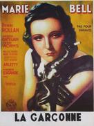 La garçonne - French Movie Poster (xs thumbnail)