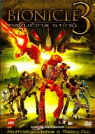 Bionicle 3: Web of Shadows - Czech Movie Cover (xs thumbnail)