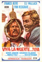 ¡Viva la muerte... tua! - Spanish Movie Poster (xs thumbnail)