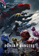 Power Rangers - Czech Movie Poster (xs thumbnail)