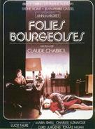 Folies bourgeoises - French Movie Poster (xs thumbnail)