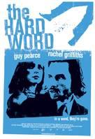 The Hard Word - Australian Movie Poster (xs thumbnail)