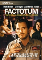 Factotum - DVD movie cover (xs thumbnail)