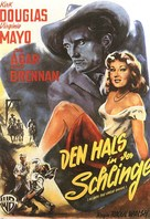 Along the Great Divide - German Movie Poster (xs thumbnail)