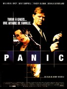 Panic - French Movie Poster (xs thumbnail)
