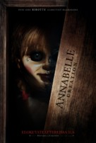 Annabelle: Creation - Finnish Movie Poster (xs thumbnail)