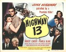 Highway 13 - Movie Poster (xs thumbnail)