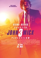 John Wick: Chapter 3 - Parabellum - Norwegian Movie Poster (xs thumbnail)
