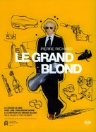 Le grand blond avec une chaussure noire - French DVD cover (xs thumbnail)