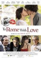 To Rome with Love - German Movie Poster (xs thumbnail)