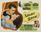 Night Song - Movie Poster (xs thumbnail)