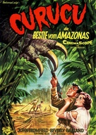 Curucu, Beast of the Amazon - German Movie Poster (xs thumbnail)