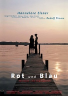 Rot und blau - German Movie Poster (xs thumbnail)