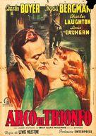 Arch of Triumph - Italian Movie Poster (xs thumbnail)