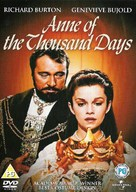 Anne of the Thousand Days - DVD cover (xs thumbnail)