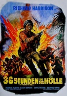 36 ore all'inferno - German Movie Poster (xs thumbnail)