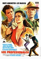 The Professionals - Spanish Movie Poster (xs thumbnail)