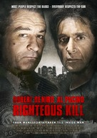 Righteous Kill - Norwegian Movie Poster (xs thumbnail)
