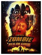 Zombi 3 - Danish Movie Poster (xs thumbnail)