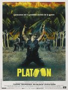Platoon - French Movie Poster (xs thumbnail)