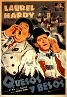 Swiss Miss - Spanish Movie Poster (xs thumbnail)