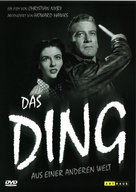 The Thing From Another World - German Movie Cover (xs thumbnail)