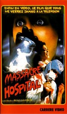 Hospital Massacre - French VHS movie cover (xs thumbnail)