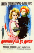 Where Love Has Gone - Spanish Movie Poster (xs thumbnail)