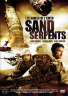 Sand Serpents - French DVD cover (xs thumbnail)