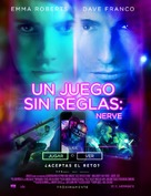 Nerve - Mexican Movie Poster (xs thumbnail)