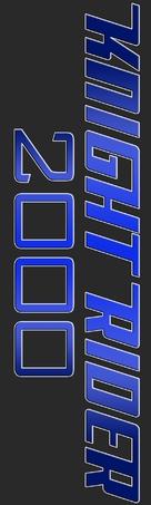 Knight Rider 2000 - Logo (xs thumbnail)