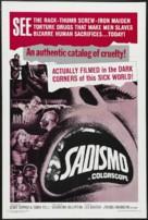 Sadismo - Movie Poster (xs thumbnail)