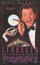 Scrooged - Video release poster (xs thumbnail)
