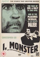 I, Monster - British DVD cover (xs thumbnail)