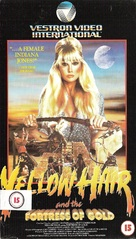 Yellow Hair and the Fortress of Gold - British VHS cover (xs thumbnail)