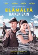 Elämältä kaiken sain - Finnish Movie Poster (xs thumbnail)