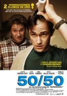 50/50 - Peruvian Movie Poster (xs thumbnail)